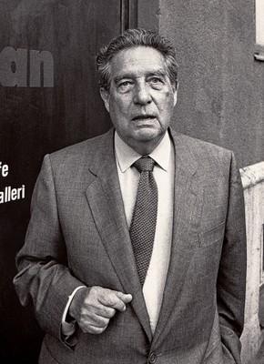 Octavio Paz . Foto: Jonn Leffmann