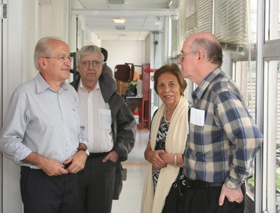 César Ades, Peter Goddard, Yvone Mascarenhas and Eliezer Rabinovici