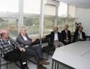 Eliezer Rabinovici, Peter Goddard, Guilherme Ary Plonski and Antonio Mauro Saraiva