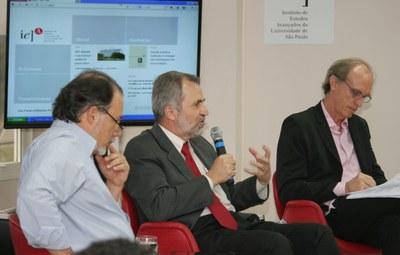Ciro Teixeira Correia, Luiz Nunes de Oliveira and Martin Grossmann