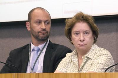 Eduardo Mario Mediondo and Stela Goldstein
