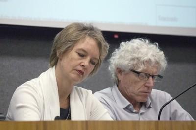Sonia Chapman and Pedro Jacobi