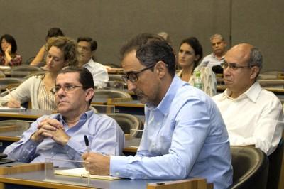 Tércio Ambrizzi, Weber Amaral and Wagner Costa Ribeiro