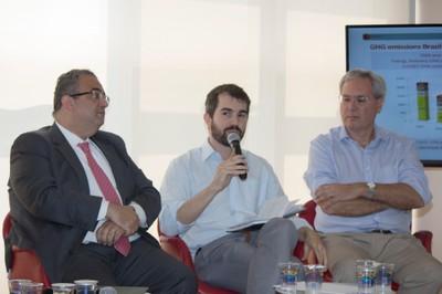 Rubens Rizek, Luiz Fernando do Amaral and Paulo Favaret