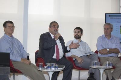 Marcelo Vieira, Rubens Rizek, Luiz Fernando do Amaral and Paulo Favaret