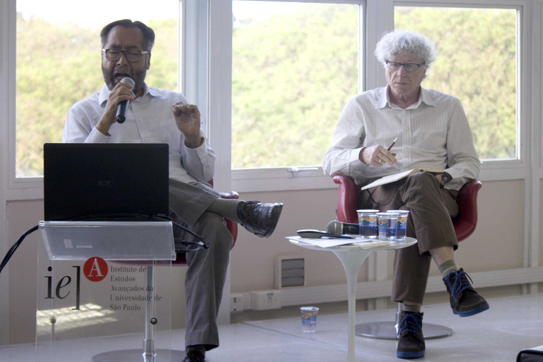 José Luiz Lezama and Pedro Jacobi
