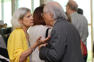 Barbara Freitag and Ricardo Ohtake