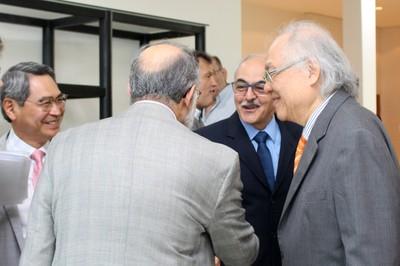 Guilherme Ary Plonski, José Roberto Sadek and Ricardo Ohtake