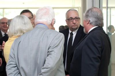 Paulo Saldiva, Jacques Marcovitch, Barbara Freitag and Sergio Paulo Rouanet
