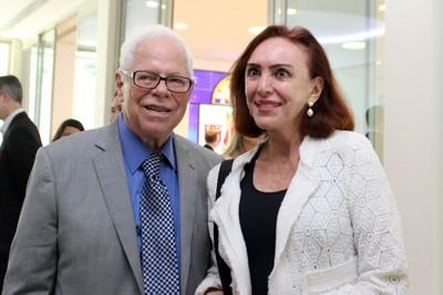 Sergio Paulo Rouanet and Roberta Matarazzo
