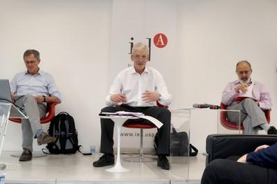 Bernd Kortmann, Morten Kyndrup and Ary Plonski - March 21