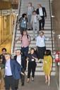 Participants visit the Institute of Brazilian Studies - March 20