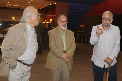 Ricardo Ohtake, Ary Plonski and Paulo Saldiva - March 19