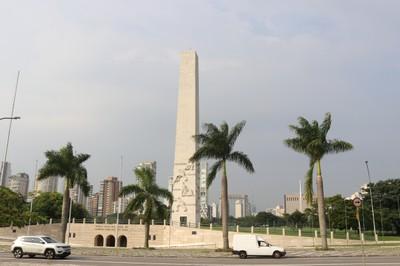 Ibirapuera's obelisk