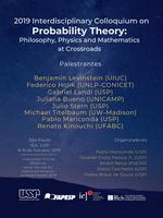 Cartaz Colóquio Probabilidade 2019
