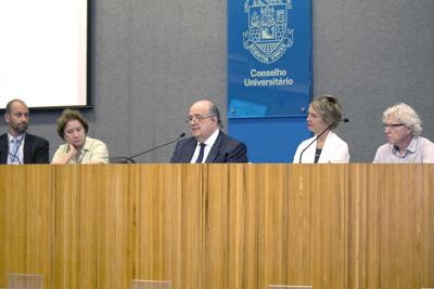 Eduardo Mário Mediondo, Stela Goldstein, Newton de Lima Azevedo, Sonia Chapman e Pedro Jacobi
