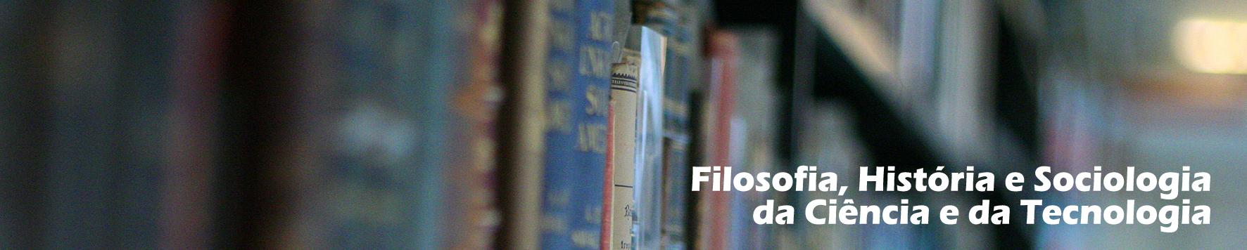 Filosofia, História e Sociologia da Ciência e da Tecnologia - Capa
