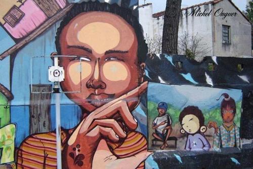 Grafite Michel Onguer