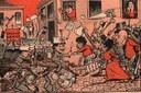 A revolta da vacina - charge de Leonidas