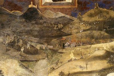 Afresco de Ambrogio Lorenzetti