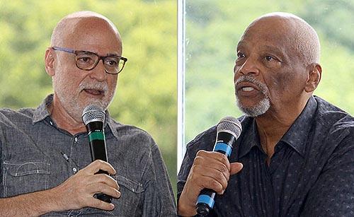 Agnaldo Farias e Emanoel Araújo - 21/11/17