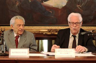 Alfredo Bosi e Sergio Paulo Rouanet - Cátedra Paulo Setubal de Arte, Cultura e Ciência