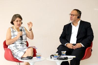 Ana Lydia Sawaya e Saul Becker
