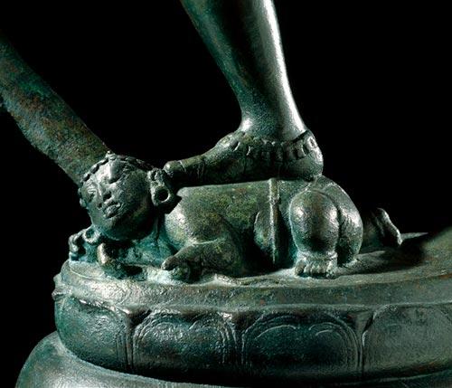 Apasmara - Escultura do British Museum