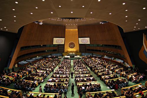 Assembléia geral ONU