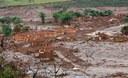 Bento Rodrigues devastado pela lama da Samarco