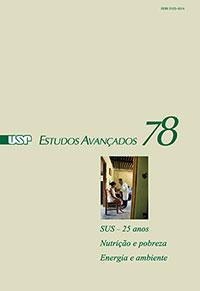 """Capa da edição 78 da revista """"Estudos Avançados"""""""