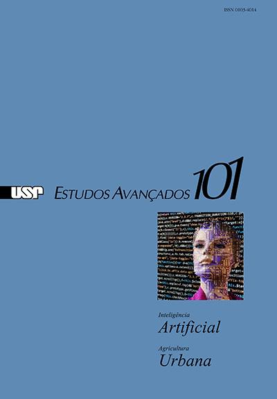 """Capa da revista """"Estudos Avançados"""" 101"""