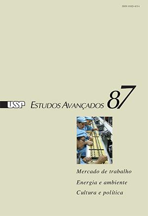 Capa da revista 'Estudos Avançados' 87
