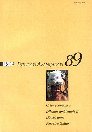Capa da revista 'Estudos Avançados' 89