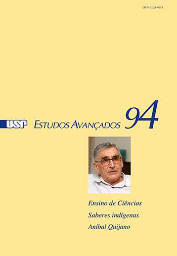 Capa da revista 'Estudos Avançados' 94