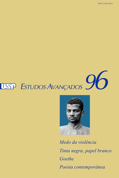 Capa da Revista estudos avançados Nº 96
