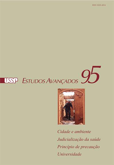 Capa da revista 'Estudos Avançados' 95