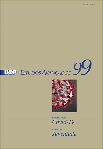 """Capa de """"Estudos Avançados"""" 99"""