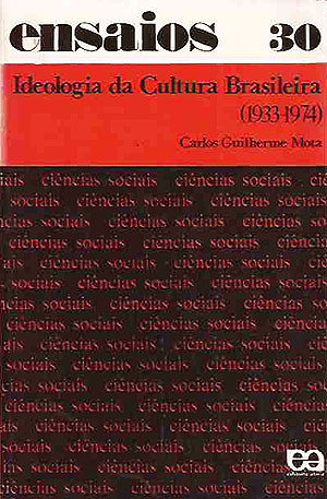 "Capa de ""Ideologia da Cultura Brasileira"""