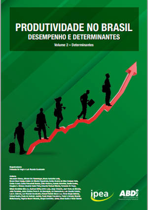 """Capa de """"Produtividade no Brasil"""" — 2º volume"""