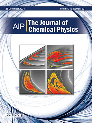 Capa do Journal of Chemical Physics