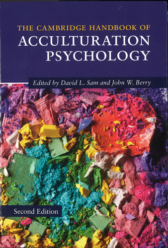 Capa do Livro Acculturation Psychology