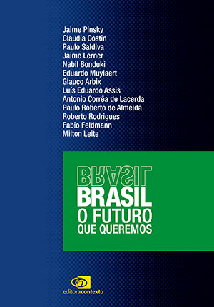 "Capa do livro 'Brasil: O Futuro que Queremos"""