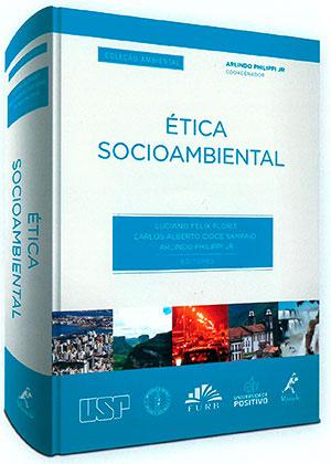 """Capa do livro """"Ética Socioambiental"""""""