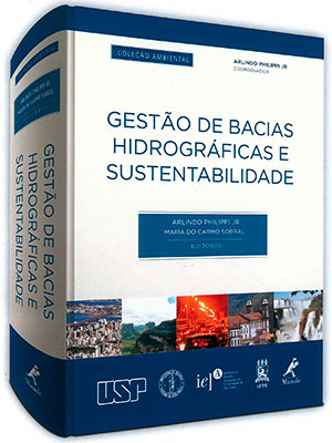 """Capa do livro """"Gestão de Bacias Hidrográficas e Sustentabilidade"""
