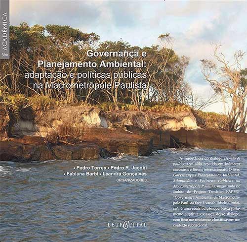 """Capa do livro """"Governança e Planejamento Ambiental"""""""