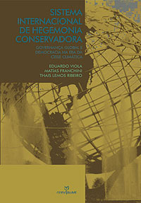 "Capa do livro ""Sistema Internacional de Hegemonia Conservadora"""