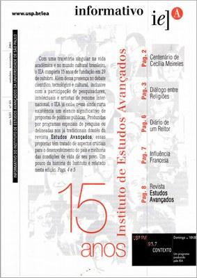Capa Informativo IEA - n. 65 - 2001