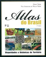 Capa livro - Atlas do Brasil
