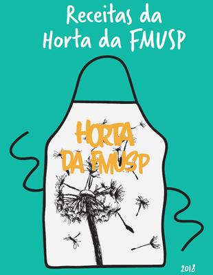 Capa livro de receitas da Horta FMUSP